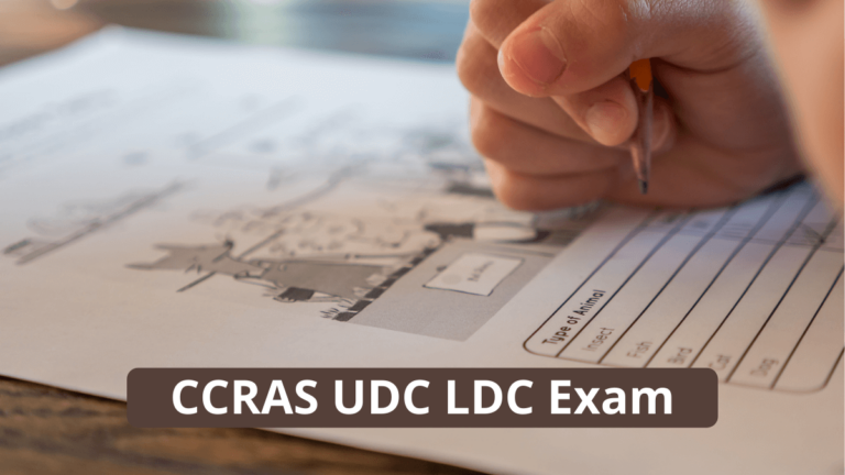 CCRAS LDC Admit Card 2021 UDC Clerk Call Letter Download Link Available Now