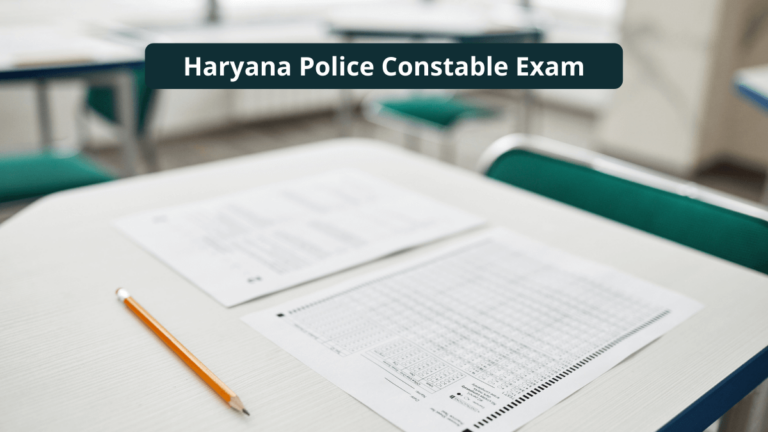Haryana Police Admit Card 2021 HSSC Constable GD Exam Date Released