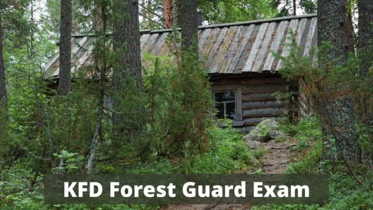 KFD Forest Guard Hall Ticket